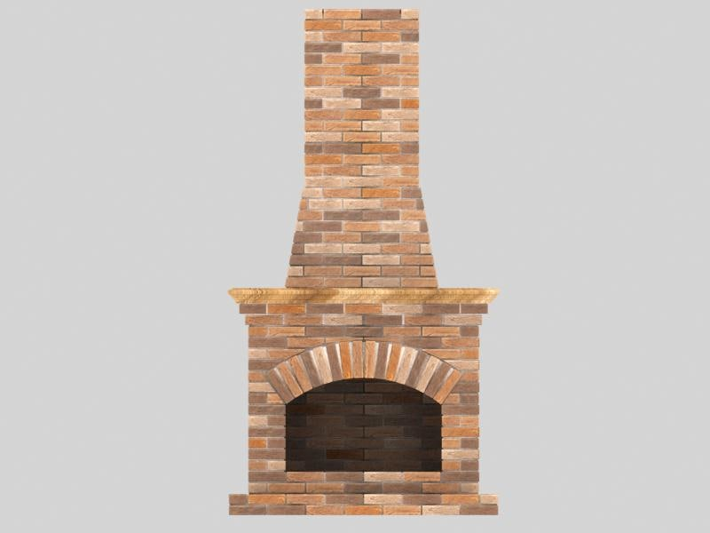 fireplace and chimney. fireplace chimney 3d max
