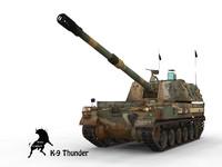 K-9 Thunder ROK Scheme