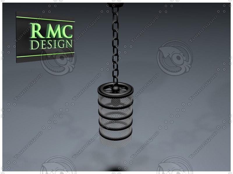chandelier 15 rmc c4d