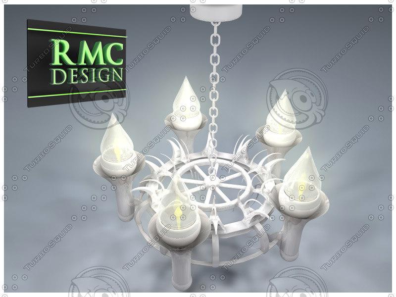 3d chandelier 29 rmc model