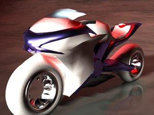 3d model futuristic concept