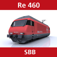 460 engine sbb 3d c4d