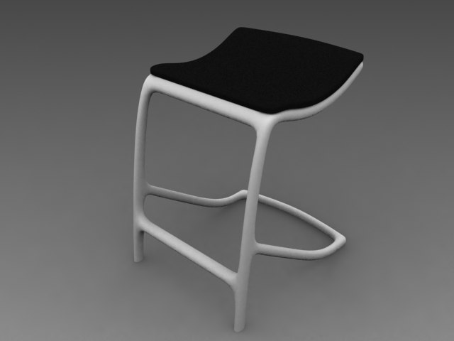 max cantilever stool