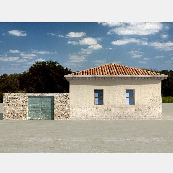 d village house model