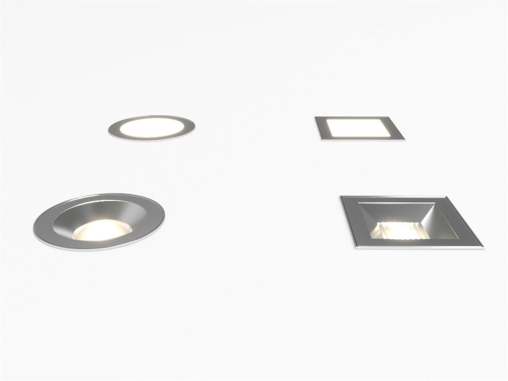 max erco nadir recessed luminaire