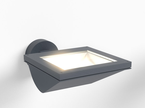 3d erco outdoor parscoop washlight model
