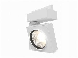 3d model erco cantax track spotlight
