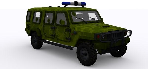 3d max agrale jeeps armies