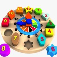 max clock puzzle toy