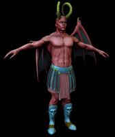 3d demon model