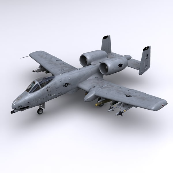 a-10 thunderbolt ii forces 3ds