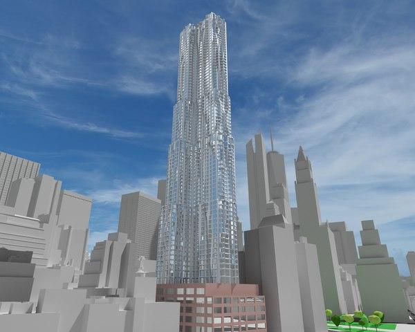 3d model beekman tower