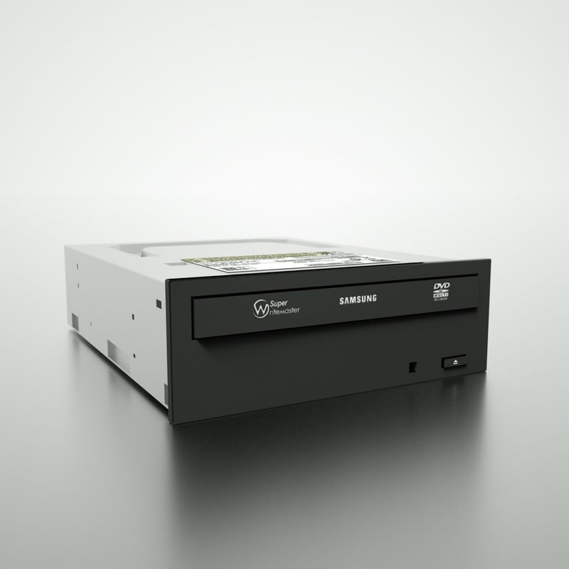 samsung cd drive 3d model