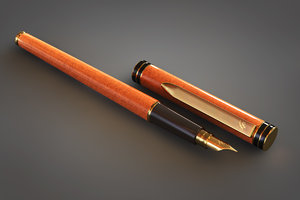 obj fountain pen
