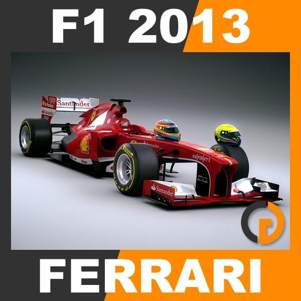 3ds max formula 1 2013 ferrari