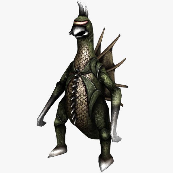 3d monster gigan