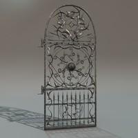 3d c4d iron gate