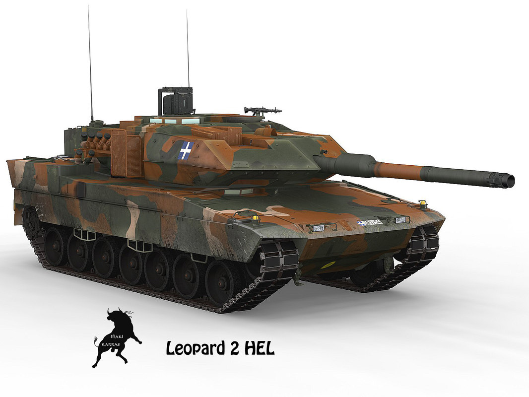 leopard greek version 3d max