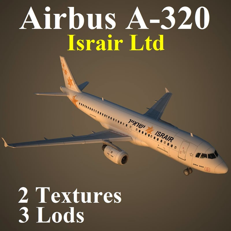 3d model airbus isr