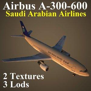 airbus airlines sva 3d max