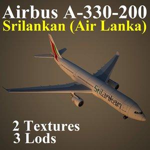 airbus alk 3d max