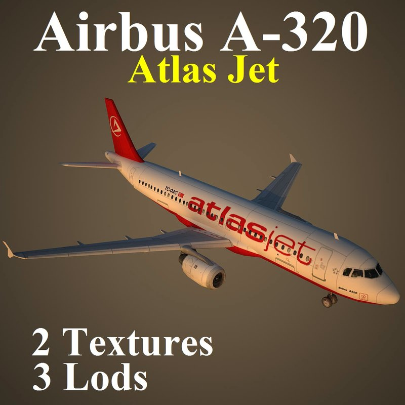 airbus bmm 3d max