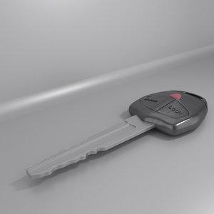 3ds max key car