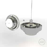 modern ceiling lamp light fixture 3d model