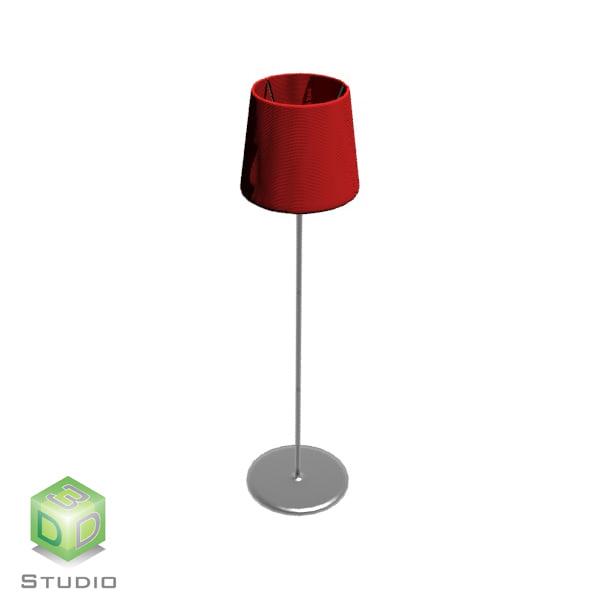 3dsmax floor lamp