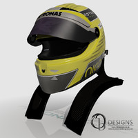 3d model formula nico rosberg 2013