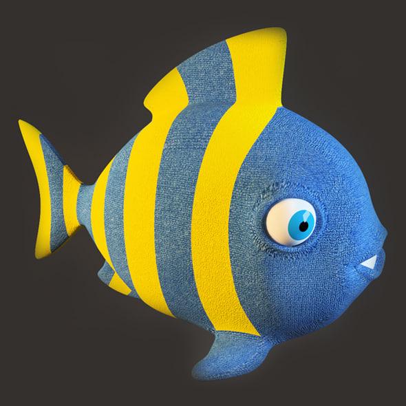 fish toy 3d max