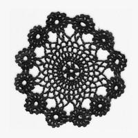 3d lace doily model