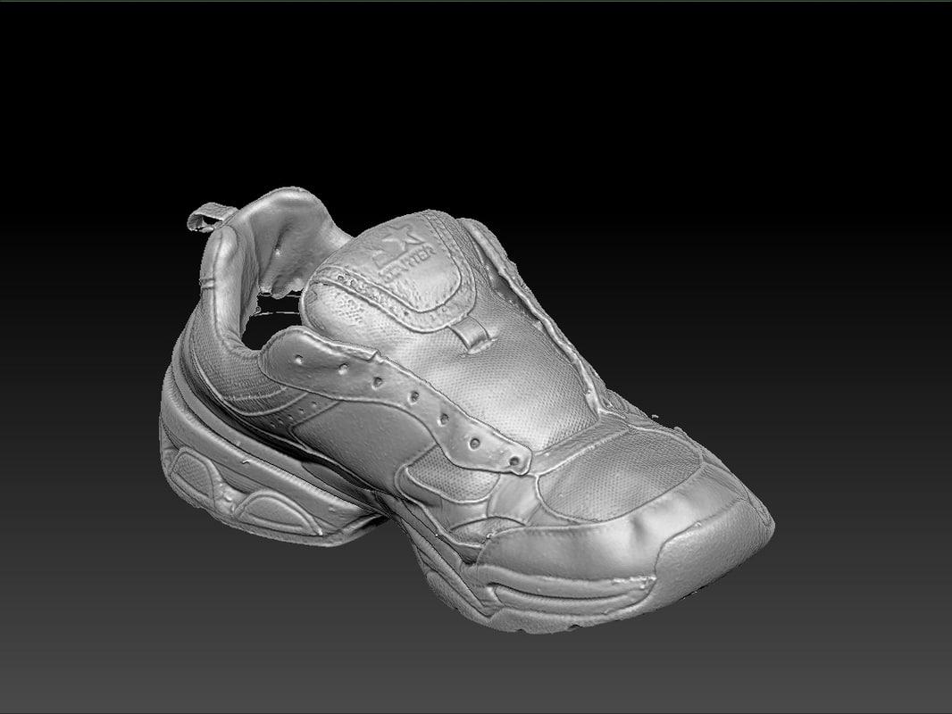 scan starter sports shoe 3d obj