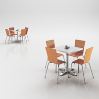 maya chairs table