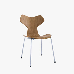 laminated chairs obj
