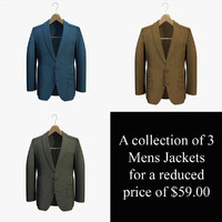 Mens Jackets on a Hanger Collection