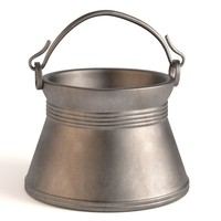 antique pot 3d