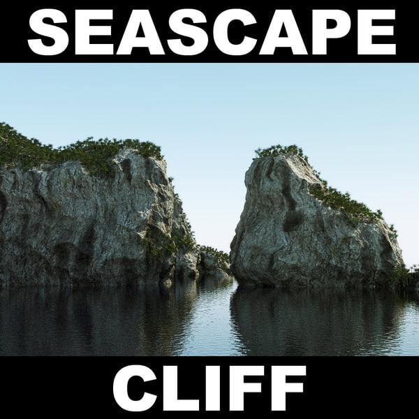 maya cliff rock landscape