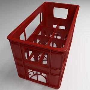 3d model bottle case