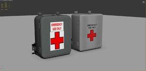 3d model aid kits