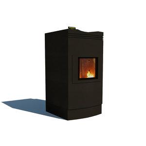 bioflow bio heater 3d model