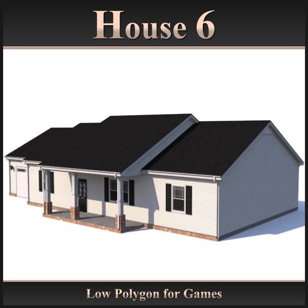 3d house 6 model
