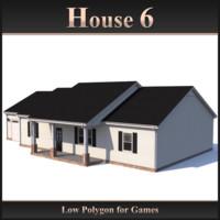 Low Polygon House 6