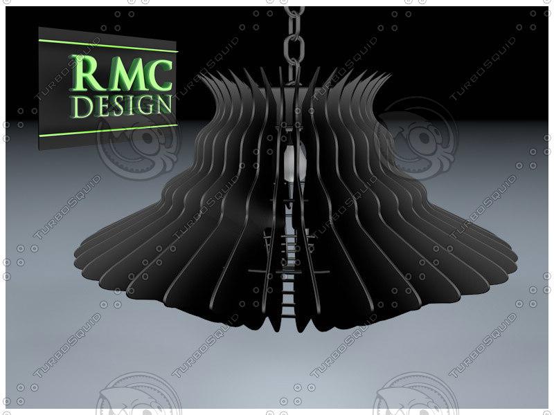 3d model chandelier 04 rmc