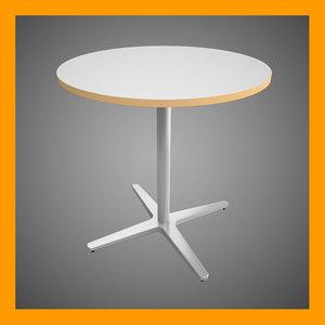 billsta table 3d model
