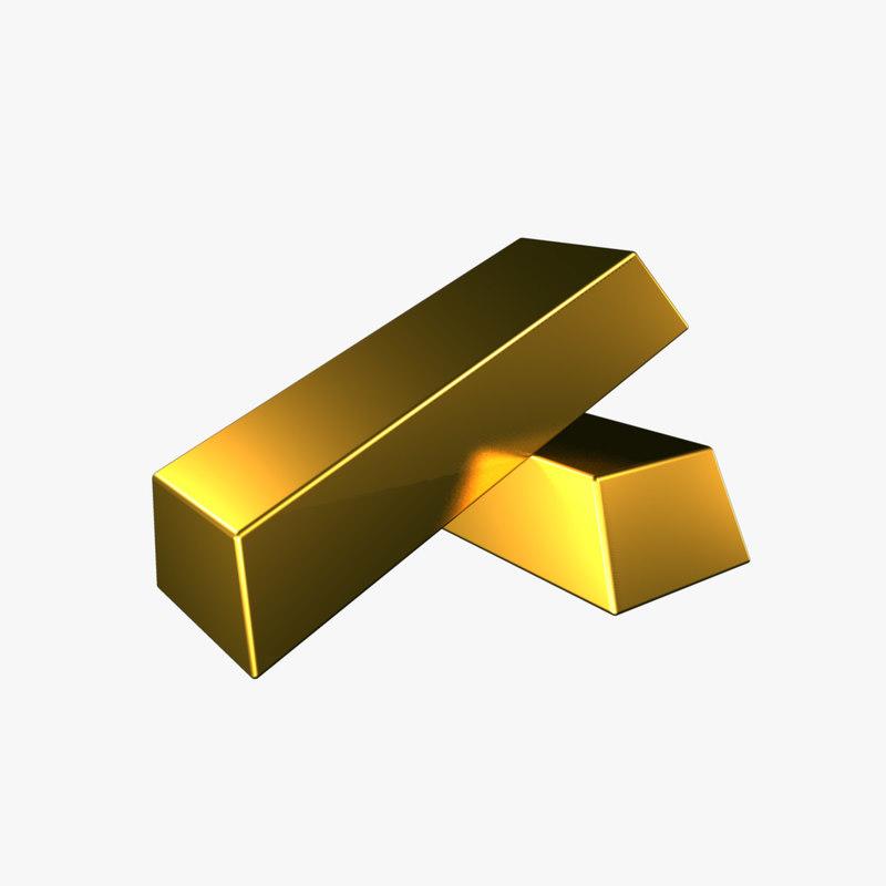 3d model gold