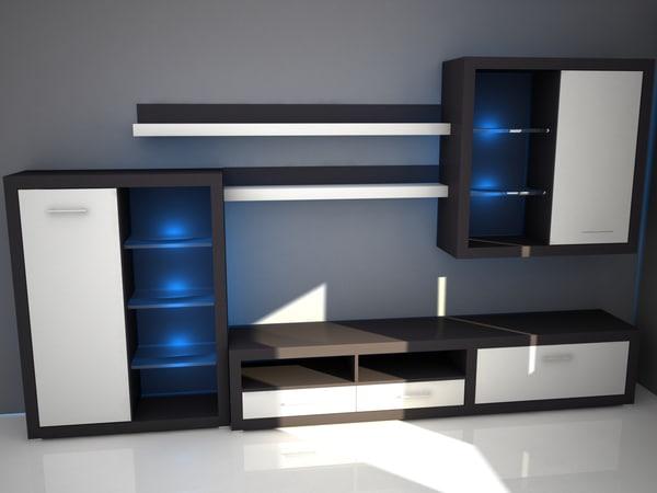 modern furniture c4d free