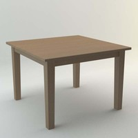 3d model ikea stornas table