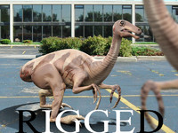 Gallimimus Rigged