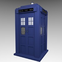 cartoon tardis